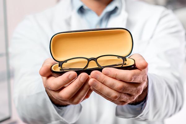 Okulary wfuterale
